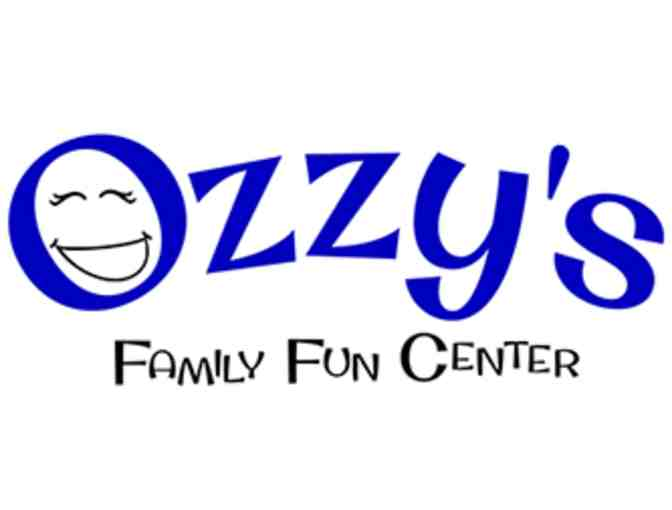 $25 Attraction Voucher for Ozzy's Family Fun Center