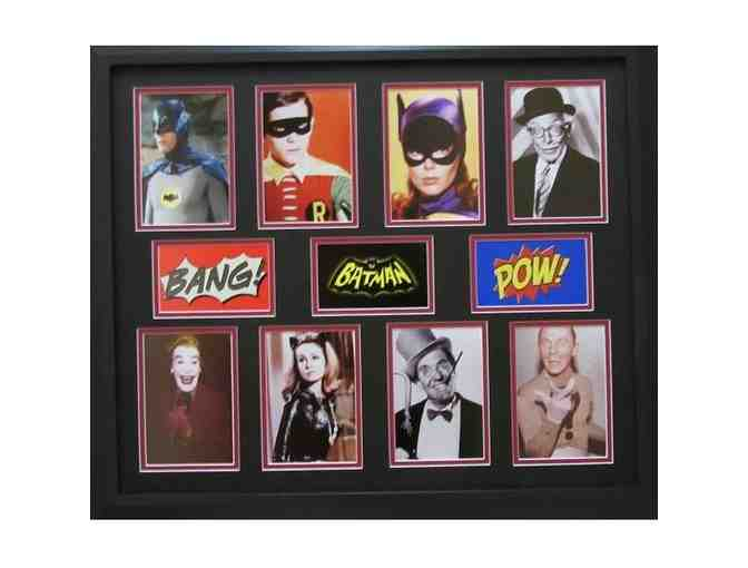Batman TV Series Collage professionally custom framed, ready to hang