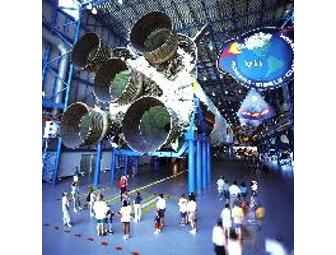 Family 4 Pack of Tickets to Kennedy Space Center Visitor Complex