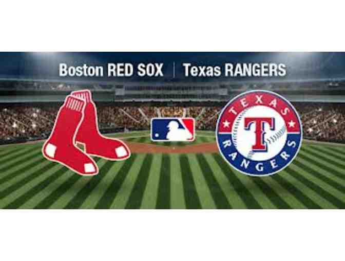 Boston Red Sox vs. Texas Rangers (4 Tickets) - Wednesday, May 24, 2017