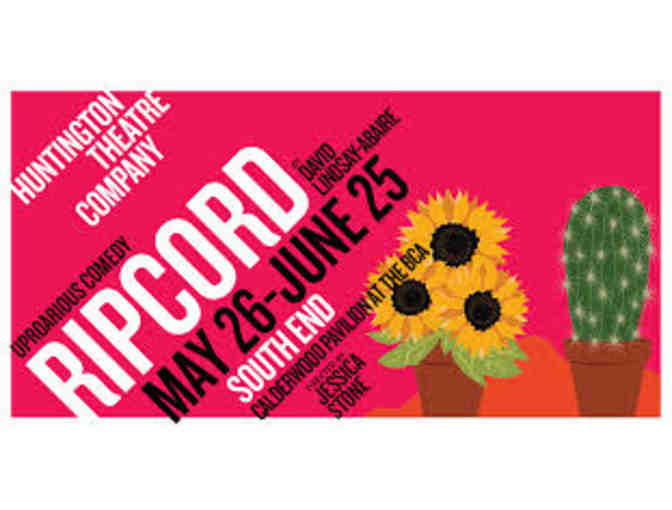Huntington Theatre's 'Ripcord' - Two Tickets