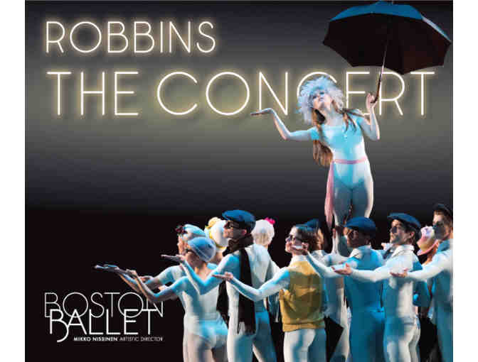 Boston Ballet's Robbins/The Concert & Post-Performance Backstage Tour