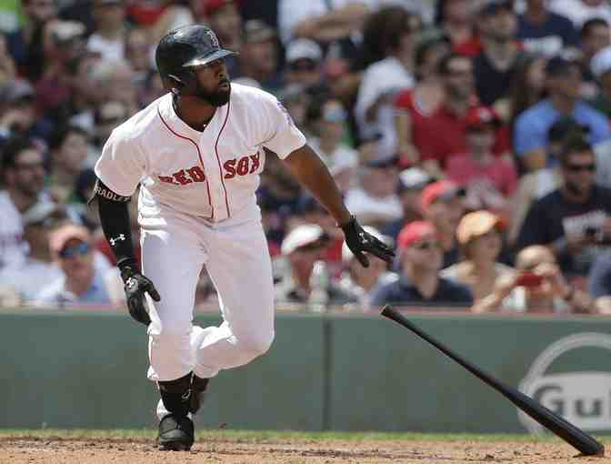 Boston Red Sox - Jackie Bradley Jr. Autographed Baseball - Photo 1