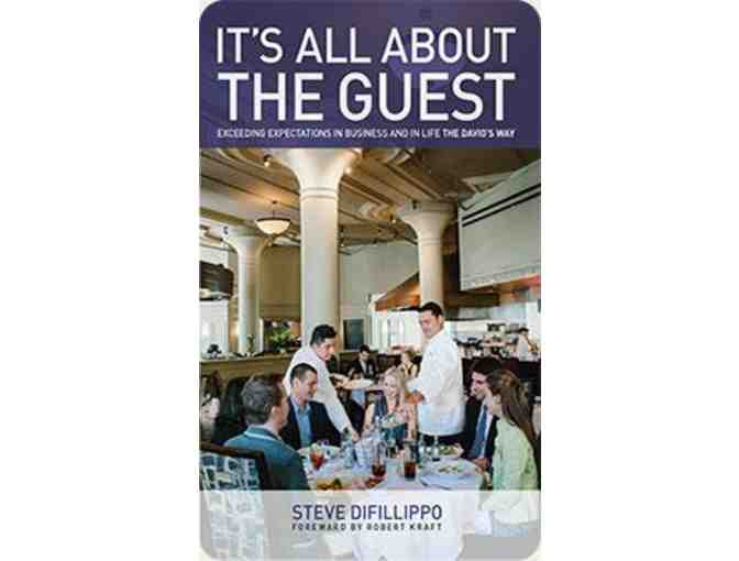 "Davio's $100 Gift Card and Signed Copy of ""It's All About the Guest"" - Photo 4"