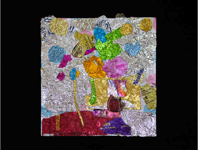 Candy Wrapper Collage by Gladys Goldstein - Photo 1