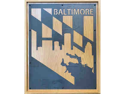 Baltimore Art from Monkey in the Metal