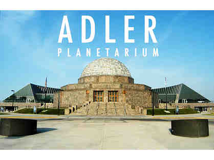 4 Museum Entry Passes to the Adler Planetarium