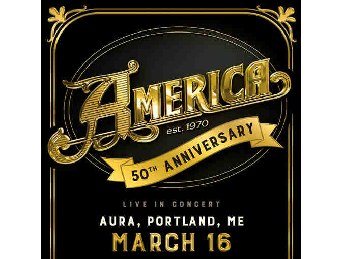 AMERICA Concert Tix  Saturday March 16 @ AURA (general admission)