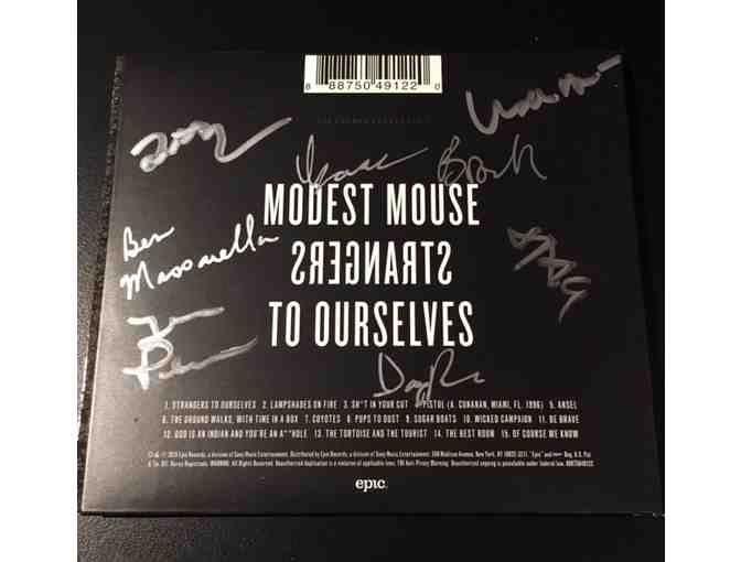 MODEST MOUSE autographed CD