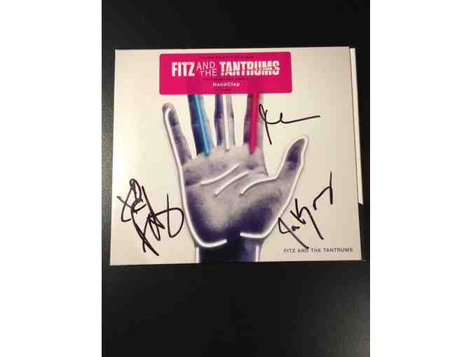 FITZ & THE TANTRUMS autographed CD