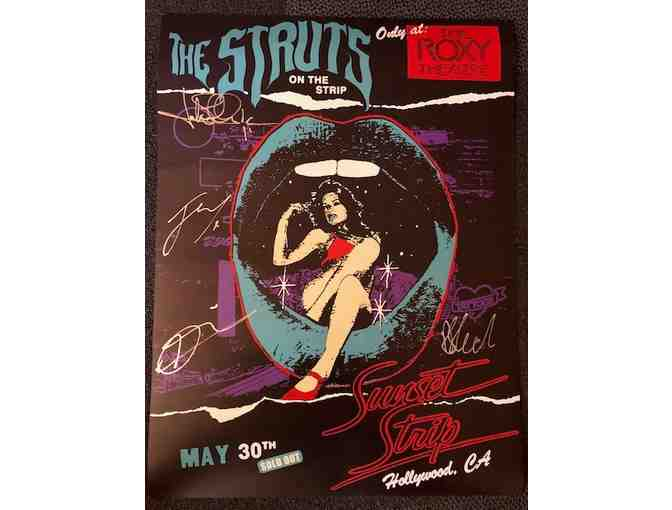 Autographed Poster from THE STRUTS