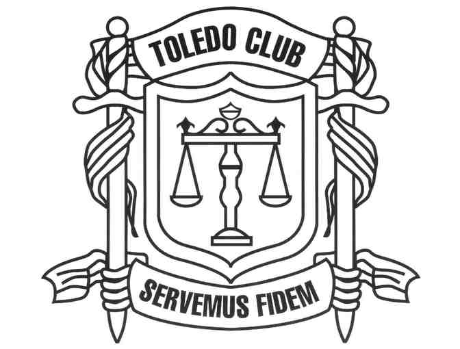 (1) The Toledo Club Gift Certificate for Dinner for Two-Toledo, OH