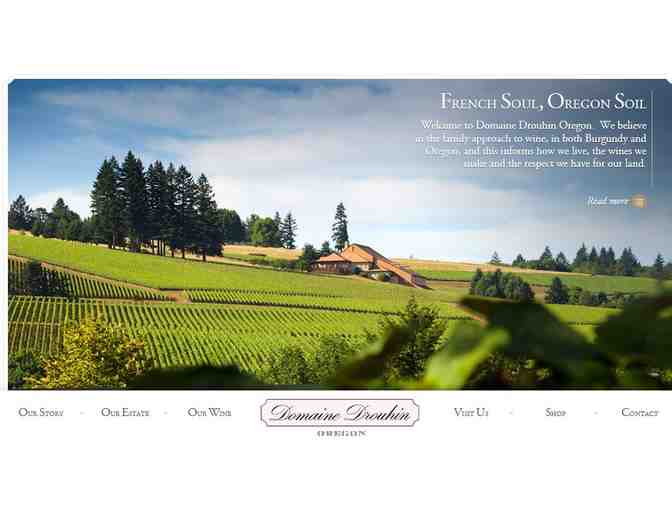 (1) Joseph Drouhin Oregon Winery Magnum of the 2014 Arthur Chardonnay - Signed