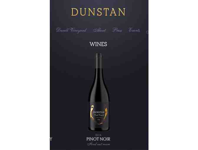 (1) Dunstan Winery - Magnum of 2014 Durell Vineyard Pinot Noir