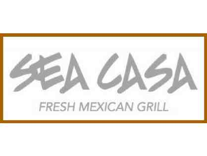 $35 gift card to The Sea Casa - Fresh Mexican Grill