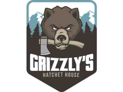 Grizzly's Hatchet House - 4 tickets