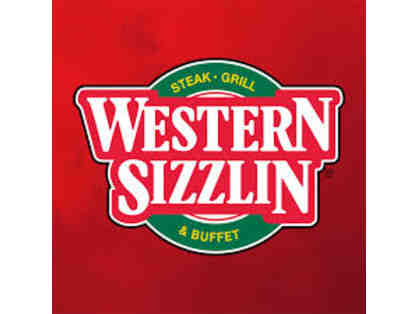 5 $10 Gift Certificates for Western Sizzlin'