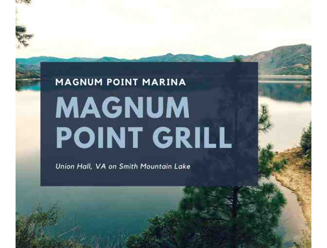 $30 Gift Certificate to Magnum Point Grill at Magnum Point Marina, Union Hall, VA - Photo 1