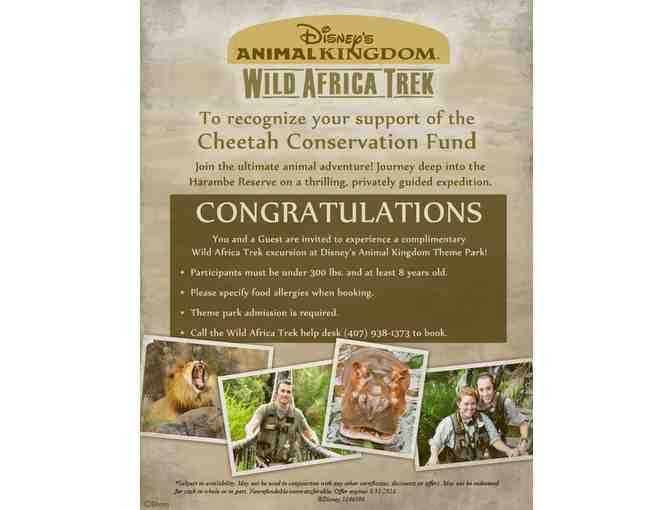 Disney Wild African Safari Getaway for Two