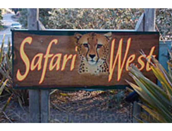 African adventure in the heart of California wine country: Safari West Overnight Stay!
