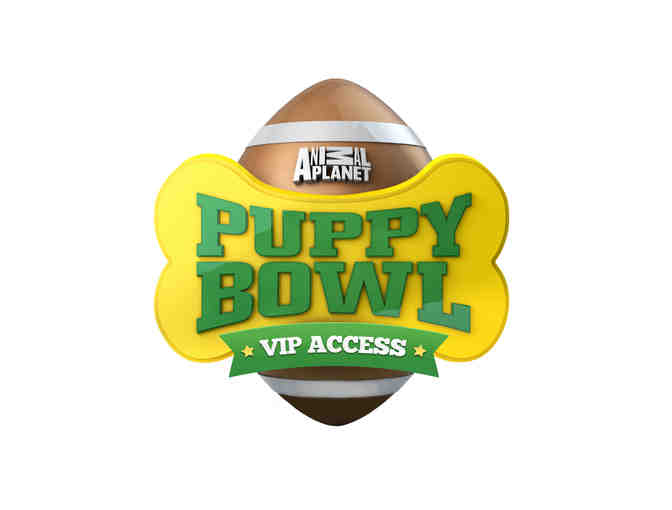 2 EXCLUSIVE VIP BEHIND-THE-SCENES TICKETS TO FILMING OF ANIMAL PLANET'S PUPPY BOWL XIII