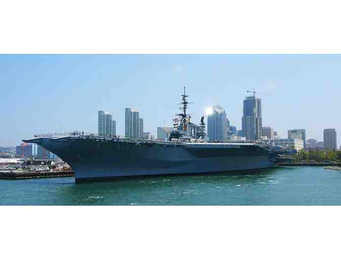 Four (4) Tickets to the USS Midway Museum