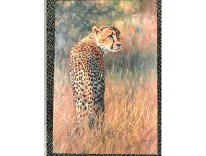 "A ""Cheetah Alone"" Canvas - Photo 1"