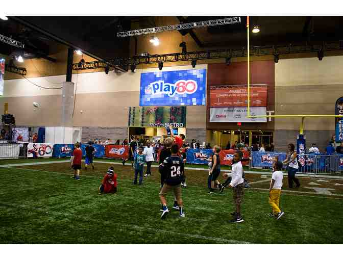 4 tickets to NFL Experience - Photo 2