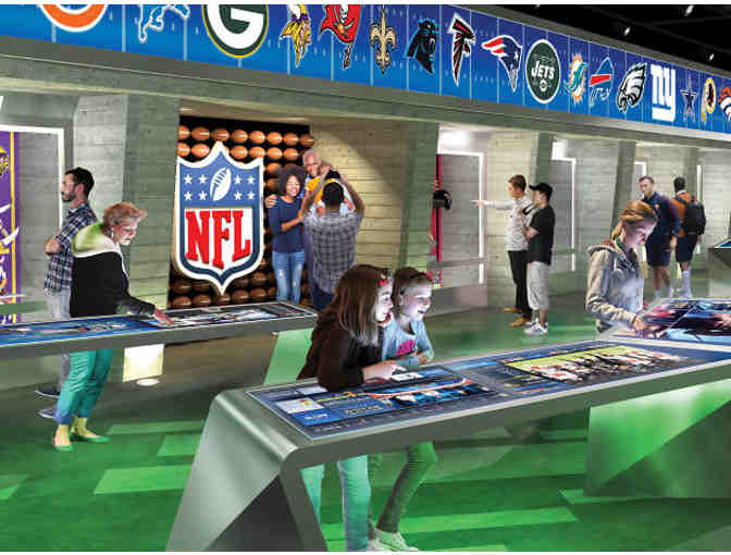 4 tickets to NFL Experience - Photo 1