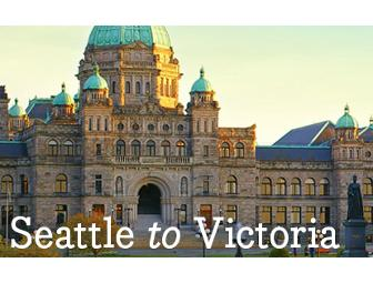 Victoria Clipper: Round-Trip Cruise for 2 between Seattle, WA and Victoria, BC