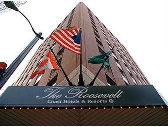 The Roosevelt Hotel in the Heart of Downtown Seattle:  One Night in a Deluxe King Room
