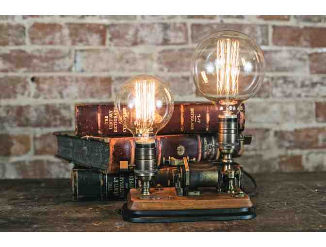 Mick Whitcomb '19th century Brunell Telegraph Light Fixture'