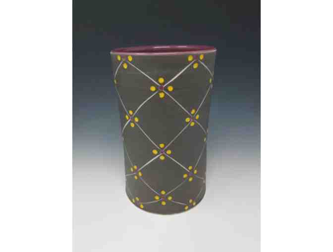 Matt Conlon 'Vase with Pattern'