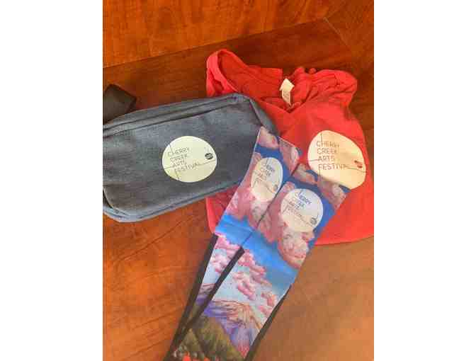 2019 Cherry Creek Arts Festival Merchandise Package