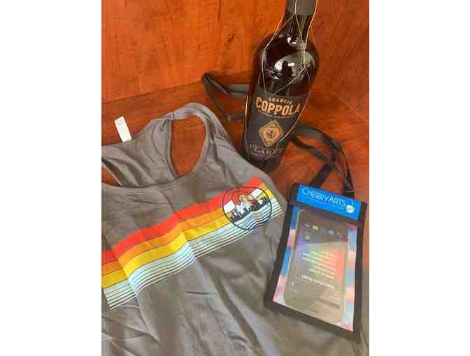 Francis Ford Coppola Claret Wine, Tank Top and Cell Phone Carrier