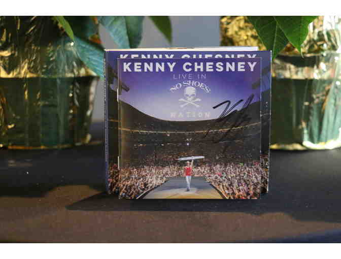 Autographed Kenny Chesney Live in No Shoes Nation Album