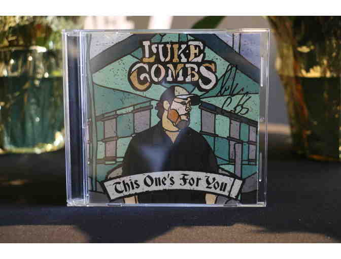 Autographed Luke Combs This One's For You Album