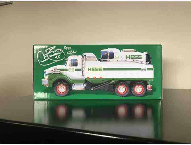 Cecil Fielder signed Hess Truck