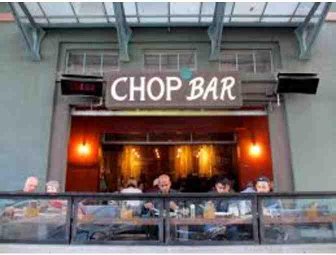 Gift Certificate to Chop Bar
