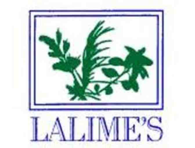 Gift Certificate to Lalime's Restaurant in Berkeley