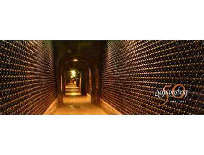 Tour & Tasting for 4 at Schramsberg Vineyards & Cellars in Napa