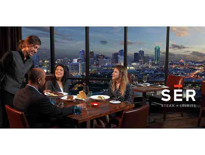 Hilton Anatole's SER Steak + Spirits Dinner for Two
