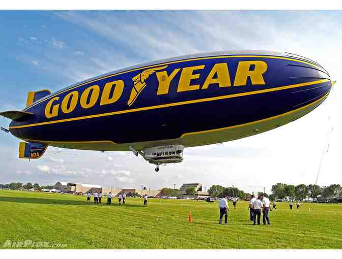 Goodyear Blimp Certificate of Flight for Two