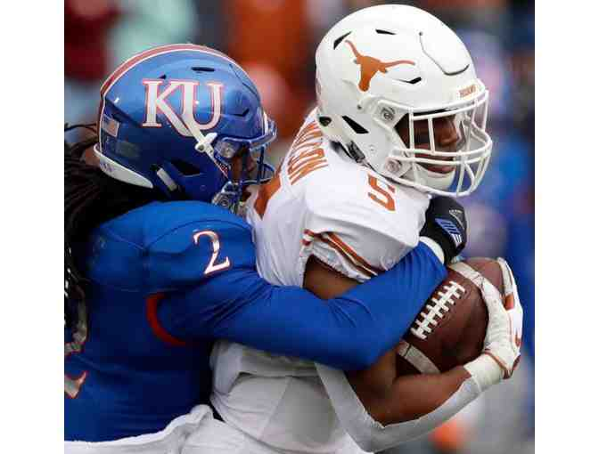 Kansas at University of Texas Football Tickets for Two - Photo 1
