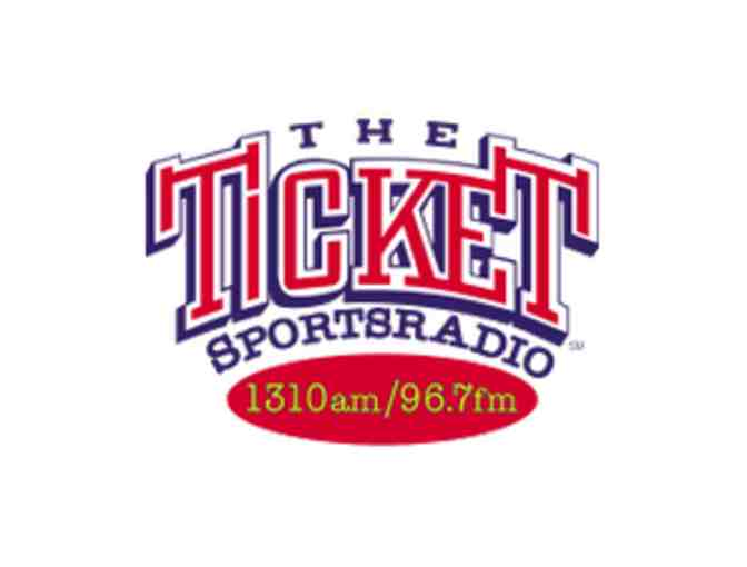 1310 The Ticket SportsRadio, Private Tour by Host Donovan Lewis - Photo 1