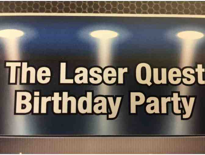 Laser Quest Birthday Party