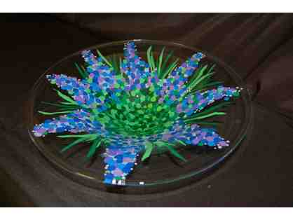 Christopher Academy Glass Platter/Bowl - Made with love and care by all the kids