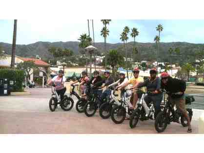 2 Electric Bikes for 2 Houra on Beautiful Catalina Island