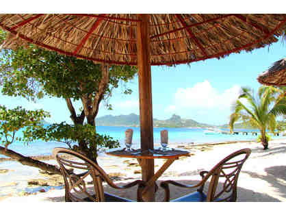 7 nights at Palm Island Resort, Grenadines