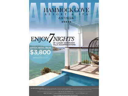 7 Nights at Hammock Cove Resort & Spa, Antigua